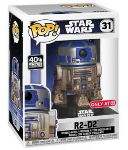 Funko POP! Star Wars n°31 R2-D2 (Target Exclusive)