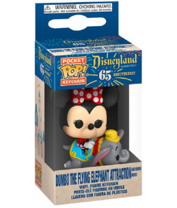copy of Funko POP! Keychain Disney 65th Dumbo The Flying Elephant Attraction and Minnie Mouse
